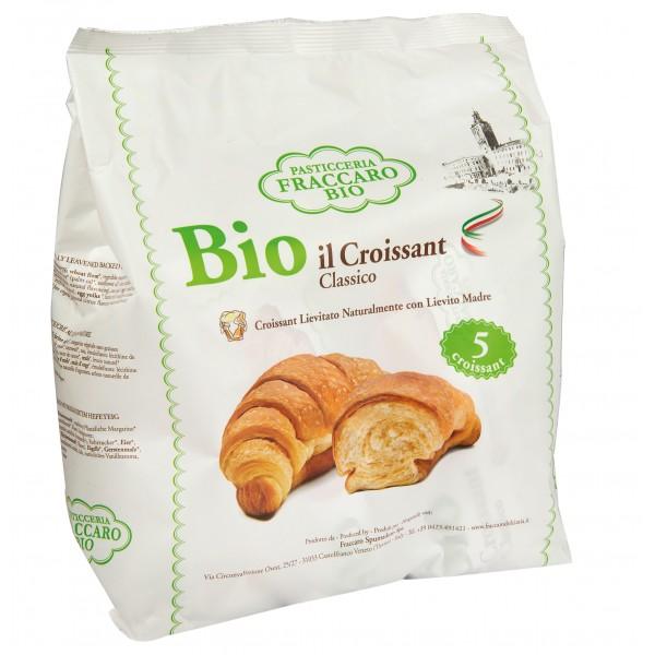 Pasticceria Fraccaro - Classic Organic Croissant Without Palma Oil - Organic Croissant - Fraccaro Spumadoro