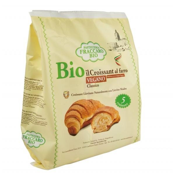 Pasticceria Fraccaro - Croissant Classico Vegano Bio al Farro - Croissant Bio