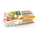 Verys - Chicca Fumè - Mozzarella Vegana di Riso - Formaggio a Base di Riso Integrale Germogliato - Vegan Bio - 200 g
