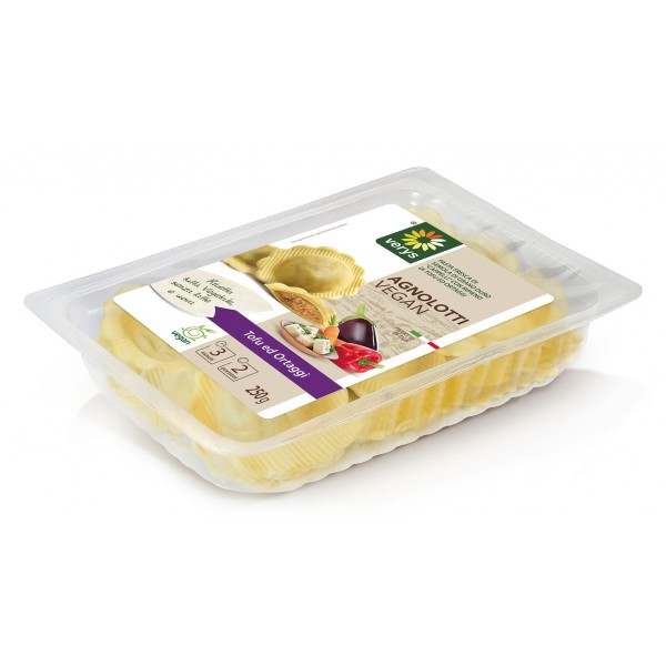 Verys - Ravioli Vegan with Tofù and Seasonal Veggies - Ravioli Vegan - Fresh Meals - Vegan Organic - 250 g