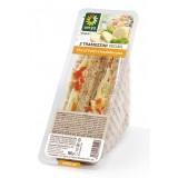 Verys - Tramezzini con Chicca Fumè e Insalata Russa - Tramezzini Vegan - Snack - Vegan Bio - 2 x 90 g