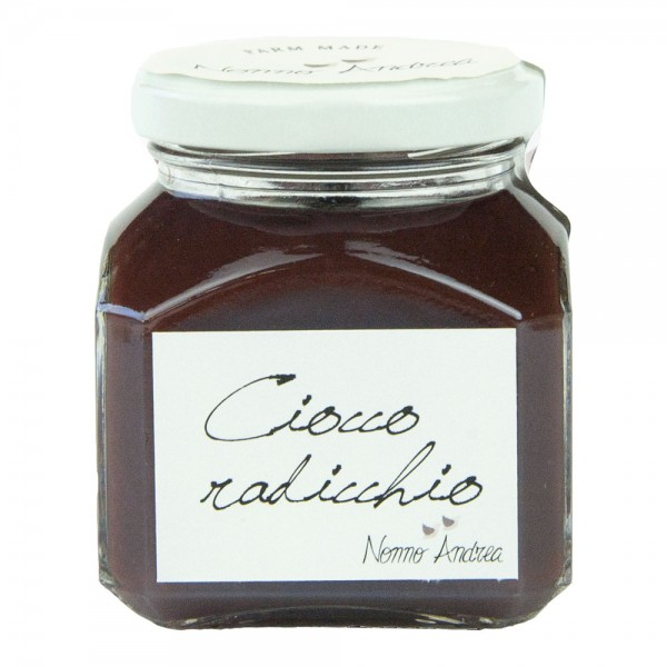 Nonno Andrea - Choco and Red Radicchio of Treviso I.G.P. Sweet Compote - Sweet Compotes Organic