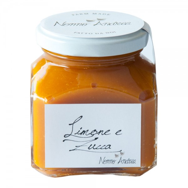 Nonno Andrea - Lemon and Pumpkin Sweet Compote - Sweet Compotes Organic