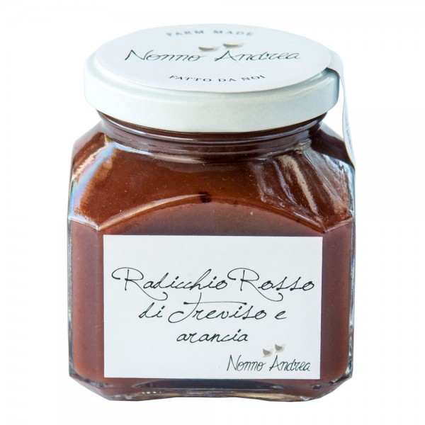 Nonno Andrea - Red Radicchio of Treviso I.G.P. and Orange Sweet Compote - Sweet Compotes Organic