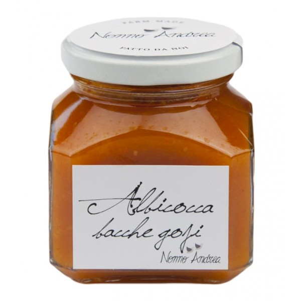 Nonno Andrea - Apricot and Goji Berries Sweet Compote - Sweet Compotes Organic