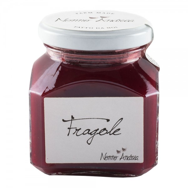 Nonno Andrea - Strawberry Sweet Compote - Sweet Compotes Organic