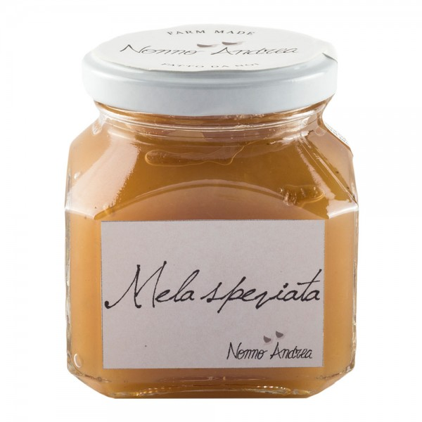Nonno Andrea - Spiced Apple Sweet Compote - Sweet Compotes Organic