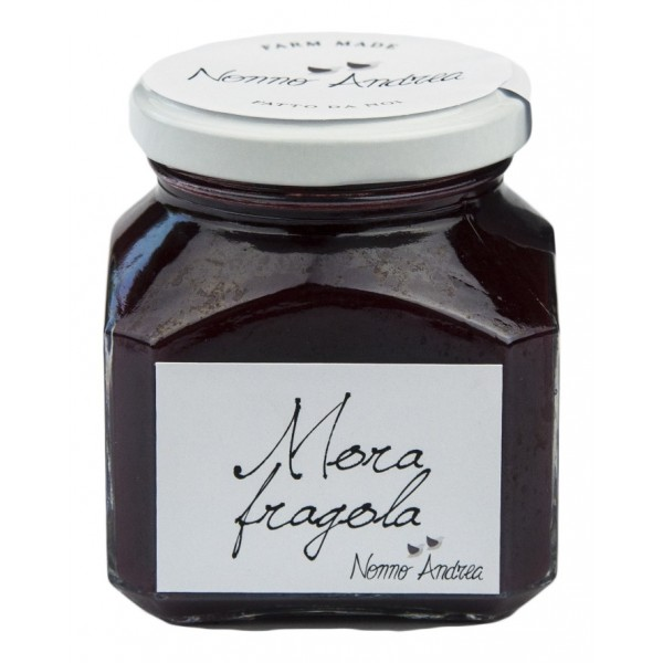 Nonno Andrea - Blackberry and Strawberry Sweet Compote - Sweet Compotes Organic