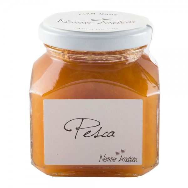Nonno Andrea - Peach Sweet Compote - Sweet Compotes Organic