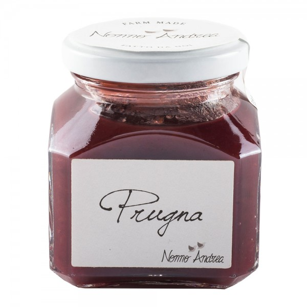 Nonno Andrea - Plum Sweet Compote - Sweet Compotes Organic