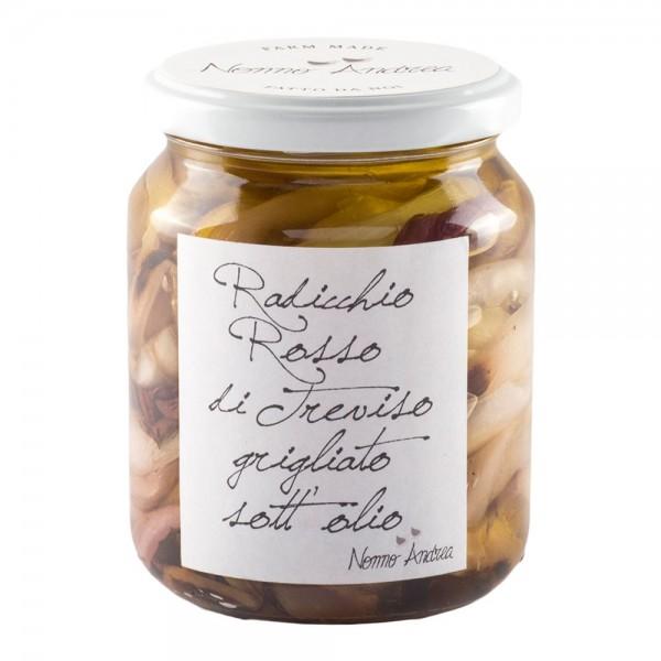 Nonno Andrea - Radicchio Rosso di Treviso I.G.P. Grigliato Sott'Olio - Sottoli e Agrodolci Bio