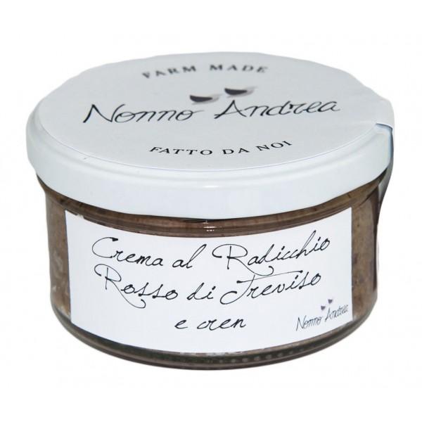 Nonno Andrea - Crema Radicchio Rosso di Treviso I.G.P. e Cren - Creme Bio