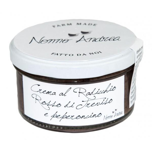 Nonno Andrea - Crema Radicchio Rosso di Treviso I.G.P. e Peperoncino - Creme Bio