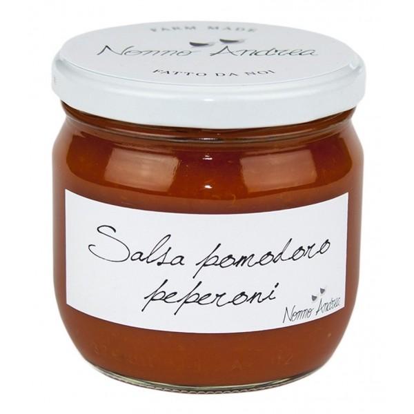 Nonno Andrea - Salsa di Pomodoro e Peperoni - Salse di Pomodoro Bio