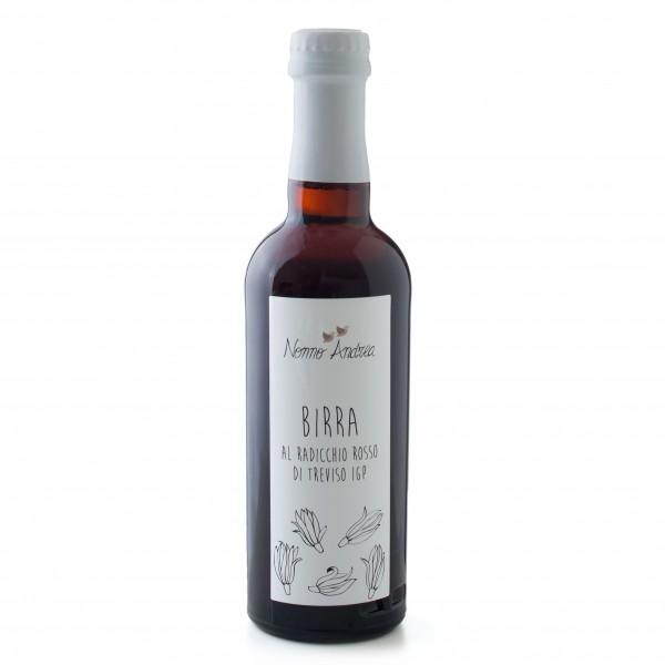 Nonno Andrea - Birra al Radicchio di Treviso I.G.P. - Birre Artigianali Bio - 750 ml