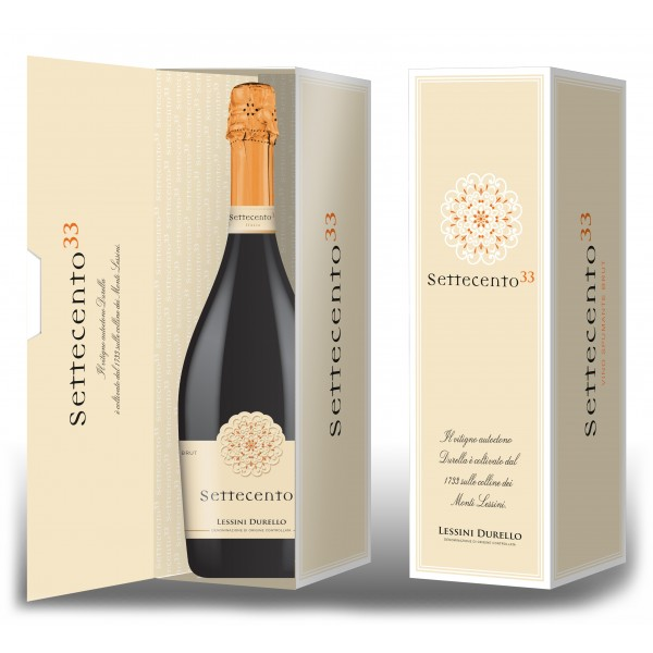 Cantina di Soave - Settecento33 - Lessini Durello Brut with Case D.O.C. - Sparkling Wines Charmat Method