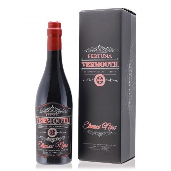 Tenuta Fertuna - Vermouth Etrusco Nero - Fine Flavored Wine