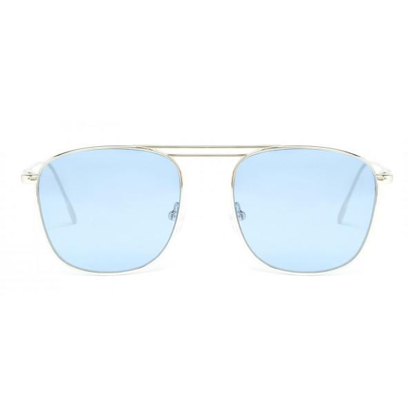 Rewop Milano - Vulcano Silver / Blue - Occhiali da Sole