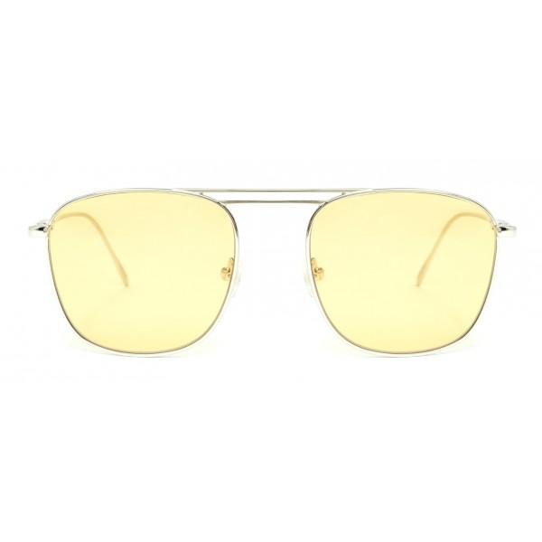 Rewop Milano - Vulcano Silver / Yellow - Occhiali da Sole