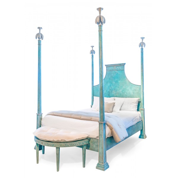 Porte Italia Interiors - Bed - Venetian Bed with Posts