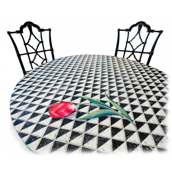 Porte Italia Interiors - Table - Sea Foam Table