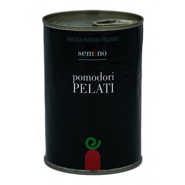 Semino il Pomodoro - Pomodori Pelati Rossi - San Marzano - Vetro - Conserve - 400 gr