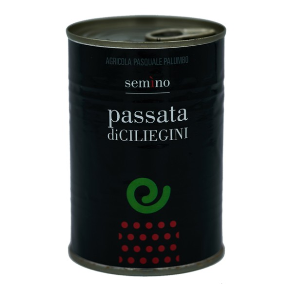 Semino il Pomodoro -  Sauce of Red Cherry Tomatoes - Tin - Preserved Foods - 400 gr