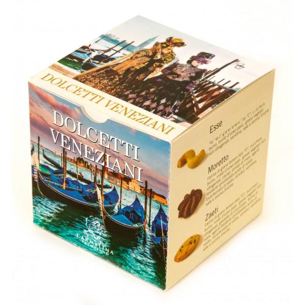 Biscotteria Veneziana - Carmelina Palmisano - Cube Present Venetian Sweets