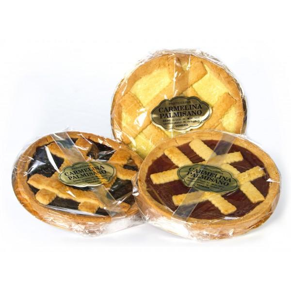 Biscotteria Veneziana - Carmelina Palmisano - Crostata all'Albicocca - Dolce Artigianale Tipico Veneziano