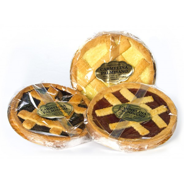 Biscotteria Veneziana - Carmelina Palmisano - Crostata alla Crema Gianduja - Dolce Artigianale Tipico Veneziano