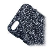 Ammoment - Razza in Glitter Verde Metallico - Cover in Pelle - iPhone 8 / 7