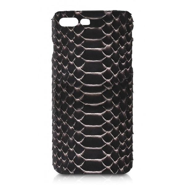 Ammoment - Pitone in Rosa Pepita - Cover in Pelle - iPhone 8 Plus / 7 Plus