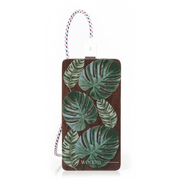 Wood'd - Tropical Powerbank - Portable Batteries - Stone Collection - 4000 mAh