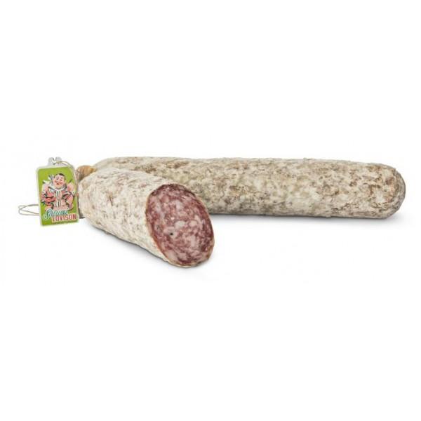 Salumificio Lovison - Salame Lovison - Salumi Artigianali - Tradizione Friulana - 800 g