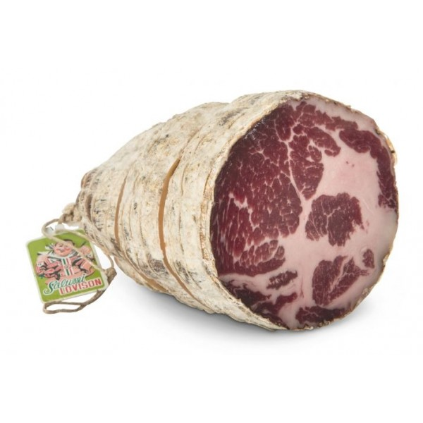 Salumificio Lovison - Ossocollo Lovison - Artisan Cured Meat - Centenary Rediscovery of Salumificio Lovison - 2250 g