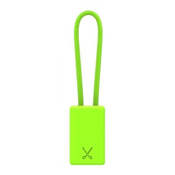 Philo - Lightning MFI Charging Cable Keychain for Apple Device - Green - Cables