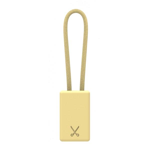 Philo - Portachiavi con Cavo di Ricarica MFI Certificato Apple Device - Oro - Cavi