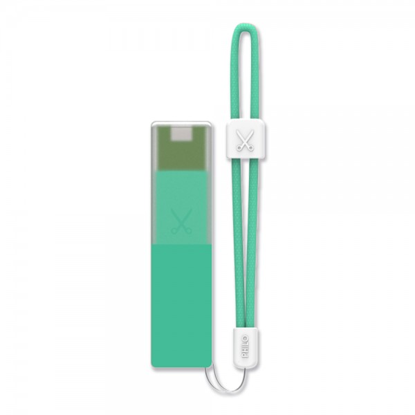 Philo - Caricabatteria Portatile per Telefoni Cellulari Portatile ad Alta Capacità - Azzurro - Batterie Portatili - 2600 mAh