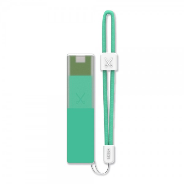 Philo - High Capacity Portable Power Bank Mobile Phone Charger - Light Blue - Portable Batteries - 2600 mAh