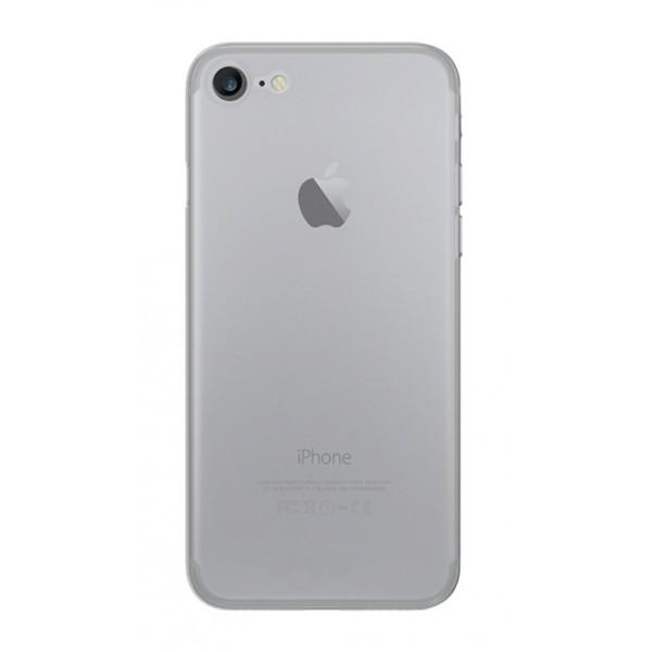 Philo - Cover Ultra Slim 0.3 - Cover PP Ultra Sottile (3 mm) e Super Leggera - Cover Effetto Traslucido - Bianca - iPhone 8 / 7