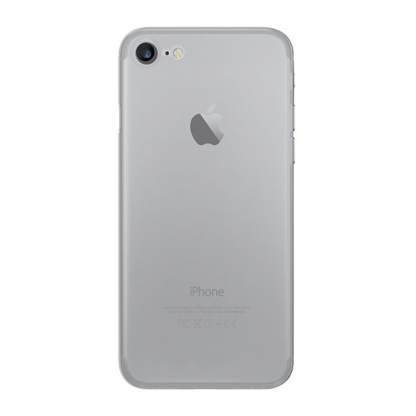 Philo - Ultra Slim 0.3 Thin Case - Ultra Thin (3 mm) and Light Weight PP Case - Translucent Effect Cover - White - iPhone 8 / 7