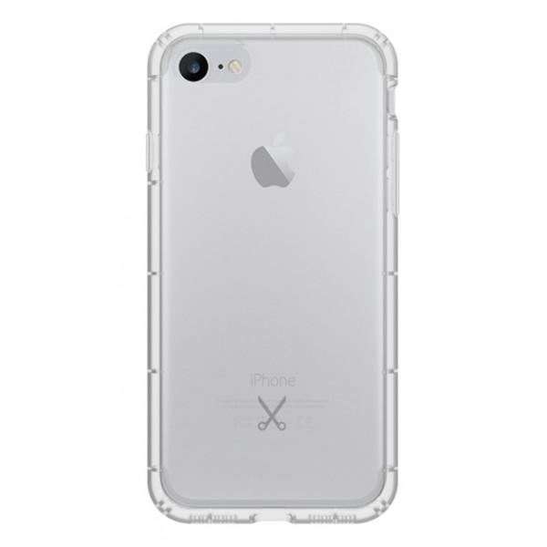 Philo - Cover Airshock Resistente agli Urti per Apple - Cover Airshock - Bianco - iPhone 8 / 7