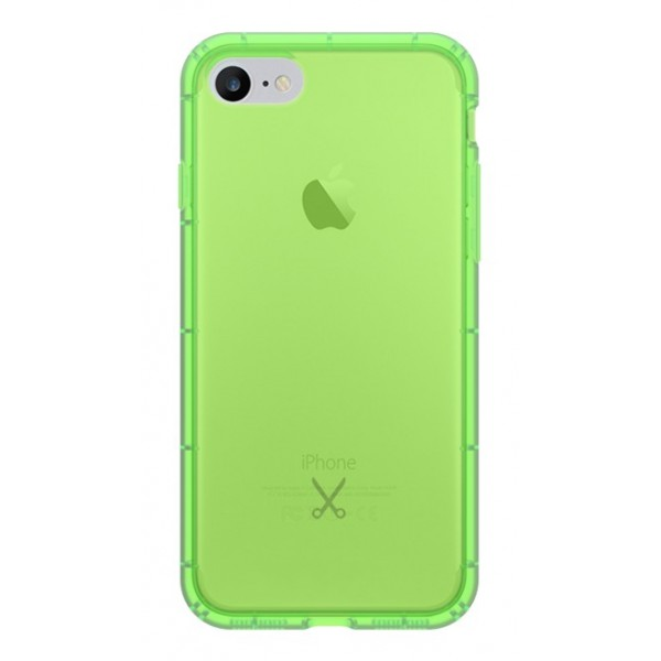 Philo - Cover Airshock Resistente agli Urti per Apple - Cover Airshock - Verde - iPhone 8 / 7
