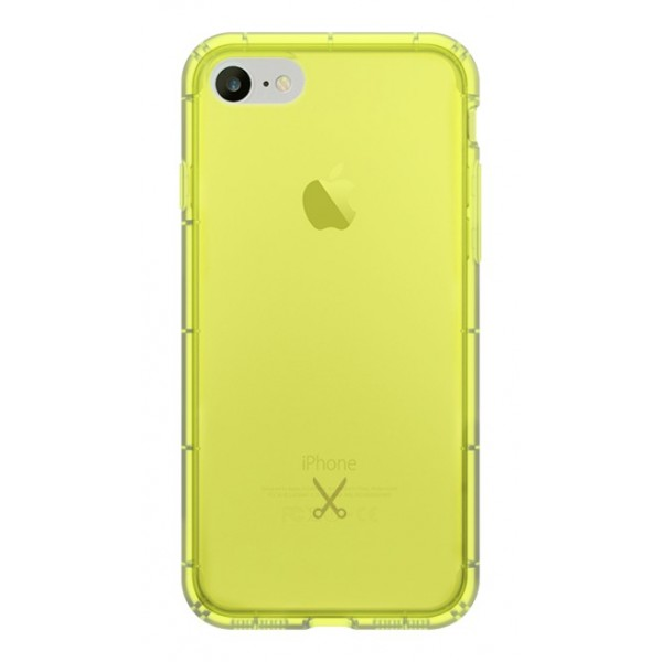 Philo - Cover Airshock Resistente agli Urti per Apple - Cover Airshock - Giallo - iPhone 8 / 7