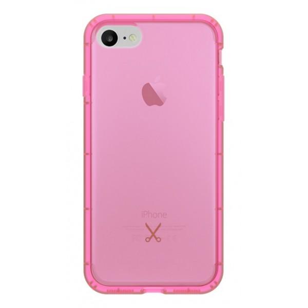 Philo - Cover Airshock Resistente agli Urti per Apple - Cover Airshock - Rosa - iPhone 8 / 7