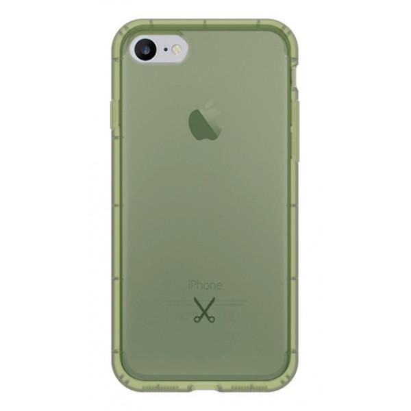 Philo - Cover Airshock Resistente agli Urti per Apple - Cover Airshock - Verde Militare - iPhone 8 / 7