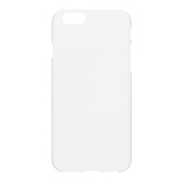 Philo - Cover Ultra Slim - Cover PP Ultra Sottile e Super Leggera - Cover Effetto Traslucido - Bianco - iPhone 6/6s