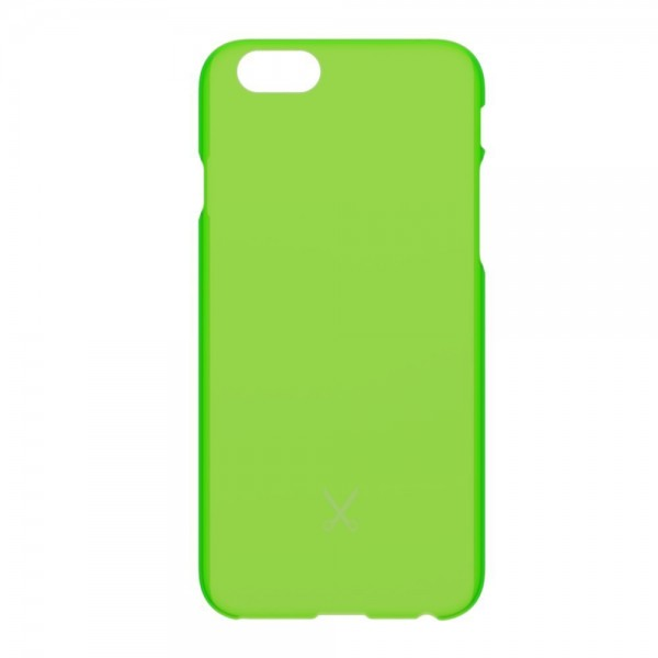 Philo - Cover Ultra Slim - Cover PP Ultra Sottile e Super Leggera - Cover Effetto Traslucido - Verde - iPhone 6/6s