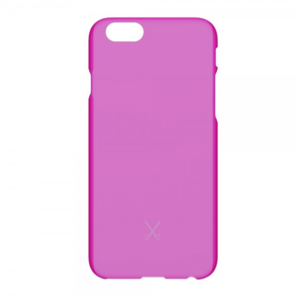 Philo - Ultra Slim Thin Case - Ultra Thin and Light Weight PP Case - Translucent Effect Cover - Pink - iPhone 6/6s