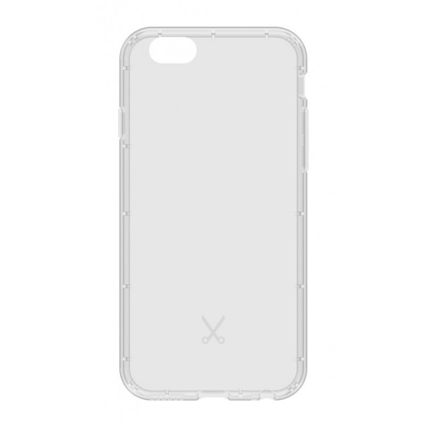 Philo - Cover Airshock Resistente agli Urti per Apple - Cover Airshock - Bianco - iPhone 6/6s